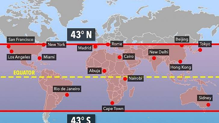 Estación espacial china podría impactar en Chile esta semana