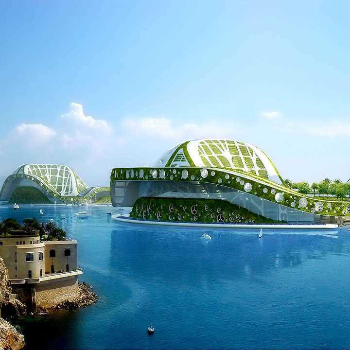 Lilypad: una ciudad flotante para mares ascendentes