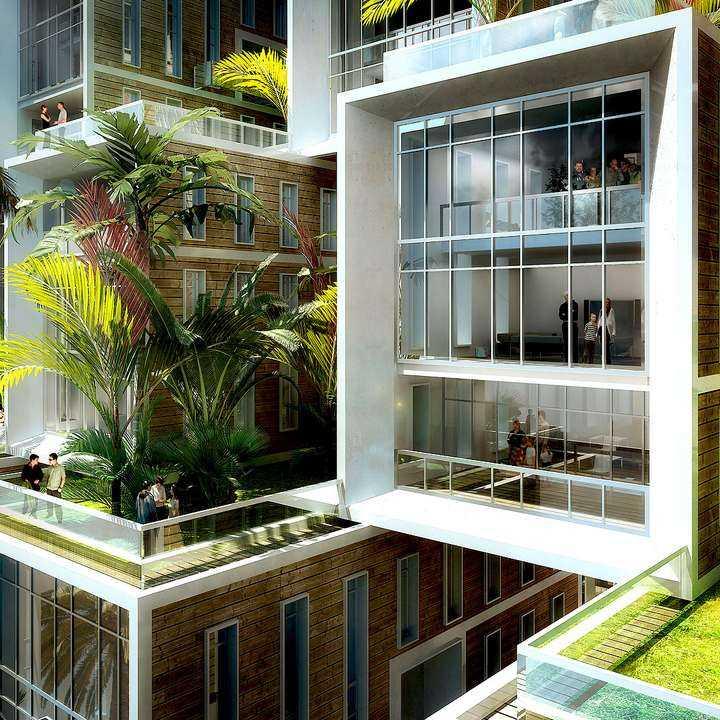 Arrecife de Coral: viviendas modulares con múltiples puntos de vista
